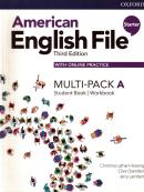 AMERICAN ENGLISH FILE STARTER A - MULTI-PACK - 3RD ED