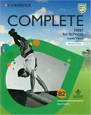 COMPLETE FIRST FOR SCHOOLS TEACHER´S BOOK WITH DOWNLOADABLE RESOURCE PACK (CLASS AUDIO AND TEACHER´S PHOTOCOPIABLE WORKSHEETS) - 2ND ED