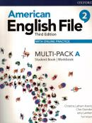 AMERICAN ENGLISH FILE 2A - MULTI-PACK WITH ONLINE PRACTICE - 3RD ED