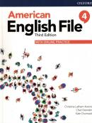 AMERICAN ENGLISH FILE 4 STUDENT BOOK WITH ONLINE PRACTICE - 3RD ED.