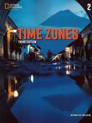 TIME ZONES 2  STUDENT BOOK + ONLINE PRACTICE - 3RD EDITION