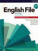 ENGLISH FILE ADVANCED: STUDENTS BOOK WITH ONLINE PRACTICE PAPERBACK