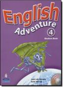 ENGLISH ADVENTURE PLUS 4 STUDENT BOOK WITH TAKE HOME CD
