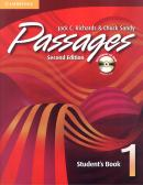 PASSAGES 1 STUDENT´S BOOK WITH AUDIO-CD / CD-ROM  SECOND EDITION