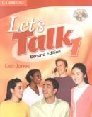 LET`S TALK STUDENT´S BOOK 1 WITH CD  SECOND EDITION