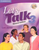 LET`S TALK SB 3 WITH CD  SECOND EDITION