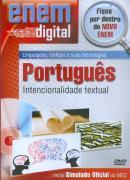 ENEM DIGITAL PORTUGUES - INTENCIONALIDADE TEXTUAL - DVD