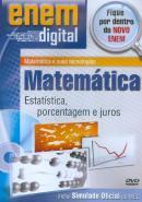 ENEM DIGITAL MATEMATICA - ESTATISTICAS, PORCENTAGEM E JUROS - DVD