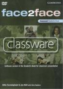 FACE2FACE ADVANCED CLASSWARE DVD-ROM (SINGLE CLASSROOM)