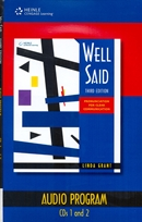 WELL SAID - AUDIO CD (PACK OF 4)