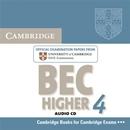 CAMBRIDGE BEC HIGHER 4 AUDIO CD
