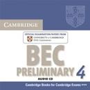 CAMBRIDGE BEC PRELIMINARY 4 AUDIO CD