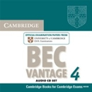 CAMBRIDGE BEC VANTAGE 4 AUDIO CDS