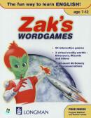 ZAK`S WORDGAMES  CD-ROM (AGE 7-12) (1)