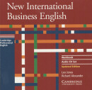 NEW INTERNATIONAL BUSINESS ENGLISH AUDIO CD WB