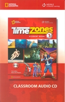 TIME ZONES 1 CLASSROOM AUDIO - 1ST ED