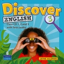 DISCOVER ENGLISH 3 CLASS AUDIO CD - 1ST ED