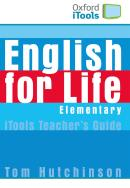 ENGLISH FOR LIFE ELEMENTARY CDROM & FLASHCARDS PACK (ITOOLS)