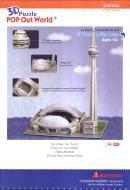 QUEBRA-CABECA 3D - CN TOWER SKY DOME 84 PECAS