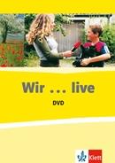 WIR LIVE - DVD + BOOKLET NEU