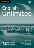 ENGLISH UNLIMITED ELEMENTARY CLASSWARE DVDROM - 1ST ED