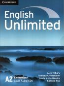 ENGLISH UNLIMITED ELEMENTARY CD - 1ST ED