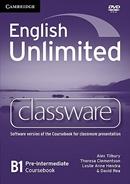 ENGLISH UNLIMITED PRE-INTERMEDIATE CLASSEWARE WITH DVD ROM - 1ST ED