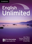 ENGLISH UNLIMITED PRE-INTERMEDIATE CLASS AUDIO CD - 1ST ED)