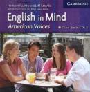 ENGLISH IN MIND 3 CLASS - AMERICAN VOICES - 1ST ED