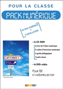 LATITUDES 1 - PACK NUMERIQUE + DVD 1 LICENCE