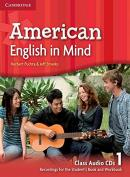 AMERICAN ENGLISH IN MIND 1 CLASS CD - 1ST ED