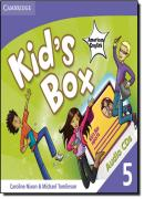 KIDS BOX AMERICAN ENGLISH 5 AUDIO CDS (3)