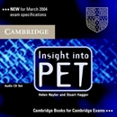 INSIGHT INTO PET CD (2)