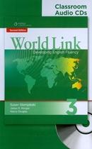 WORLD LINK 3 CLASSROOM AUDIO CD - 2ND ED