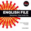 ENGLISH FILE ELEMENTARY CLASS AUDIO CDS (5) - THIRD EDITION