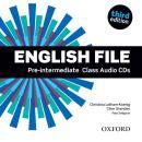 ENGLISH FILE PRE-INTERMEDIATE CLASS AUDIO CDS (5) - THIRD EDITION