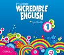 INCREDIBLE ENGLISH 1 CLASS AUDIO CDS (3) - SECOND EDITION