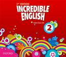 INCREDIBLE ENGLISH 2 CLASS AUDIO CDS (3) - SECOND EDITION