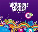 INCREDIBLE ENGLISH 5 CLASS AUDIO CDS (3) - SECOND EDITION