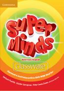 SUPER MINDS AMERICAN ENGLISH STARTER CLASSWARE AND INTERACTIVE DVD-ROM - 1ST E