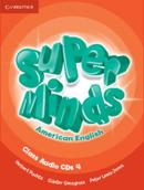 SUPER MINDS AMERICAN ENGLISH 4 CLASS AUDIO CD - 1ST ED
