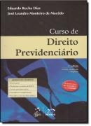 CURSO DE DIREITO PREVIDENCIARIO - 3ª EDICAO