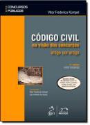 SERIE CONCURSOS PUBLICOS - CODIGO CIVIL NA VISAO DOS CONCURSOS - ARTIGO POR ARTIGO - 3ª EDICAO