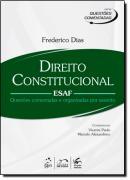 SERIE QUESTOES COMENTADAS - DIREITO CONSTITUCIONAL - ESAF