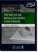 SERIE TEORIA E QUESTOES - TECNICAS DE REDACAO PARA CONCURSOS - 3ª ED