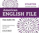 AMERICAN ENGLISH FILE STARTER CLASS AUDIO CD - 2ND ED