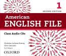 AMERICAN ENGLISH FILE 1 CLASS AUDIO CD - 2ND ED