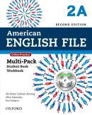 AMERICAN ENGLISH FILE 2A MULTIPACK WITH ONLINE PRACTICE AND ICHECKER - 2ND ED