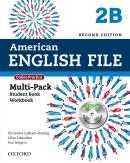 AMERICAN ENGLISH FILE 2B MULTIPACK WITH ONLINE PRACTICE AND ICHECKER - 2ND ED