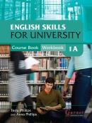ENGLISH SKILLS FOR UNIVERSITY LEVEL 1A COMBINED COURSE BOOK AND WORKBOOK WITH AUDIO CDS